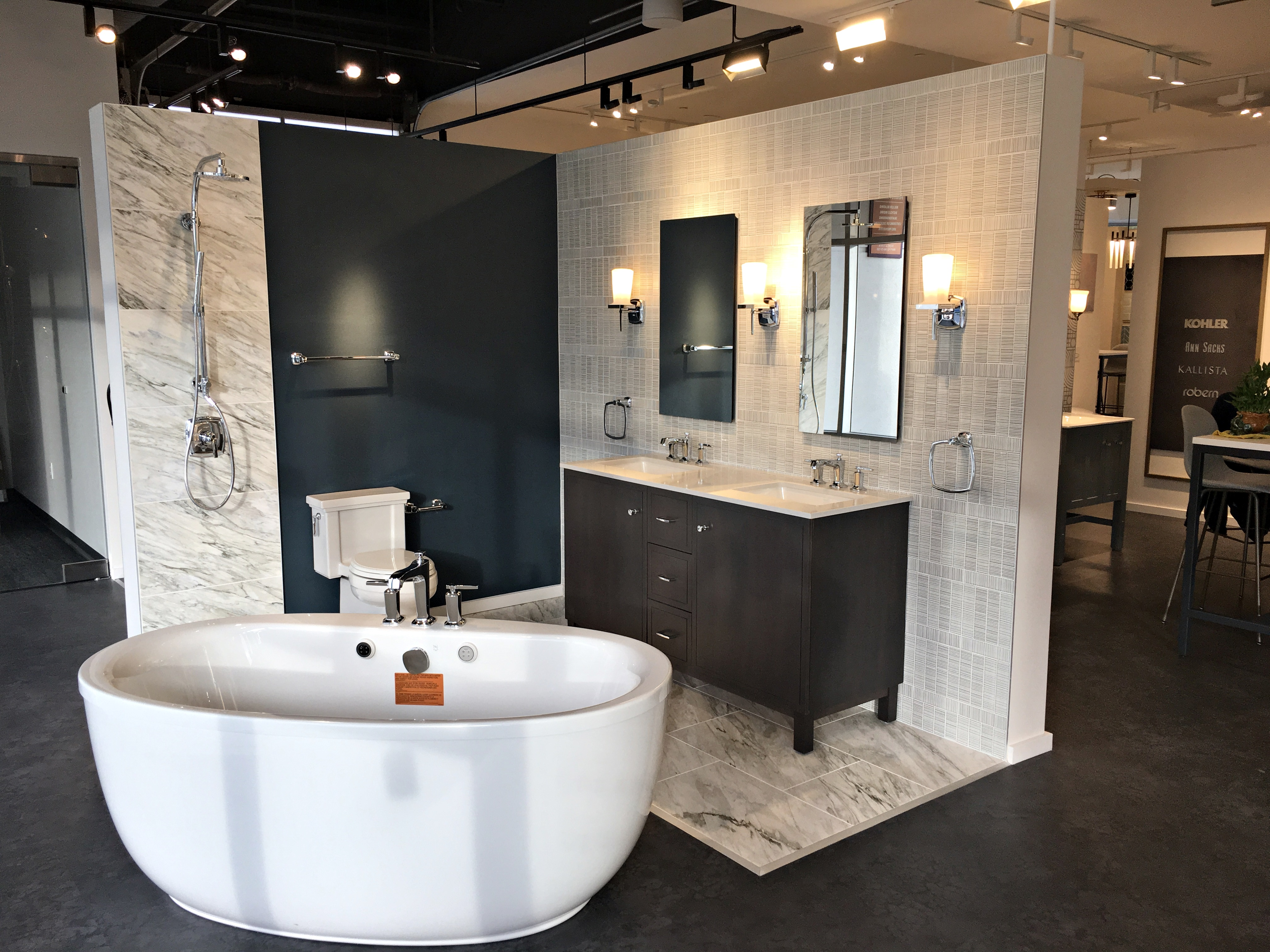 Kohler Signature Store at Spectrum Crossroads in Irvine, CA by Westwood Contractors.