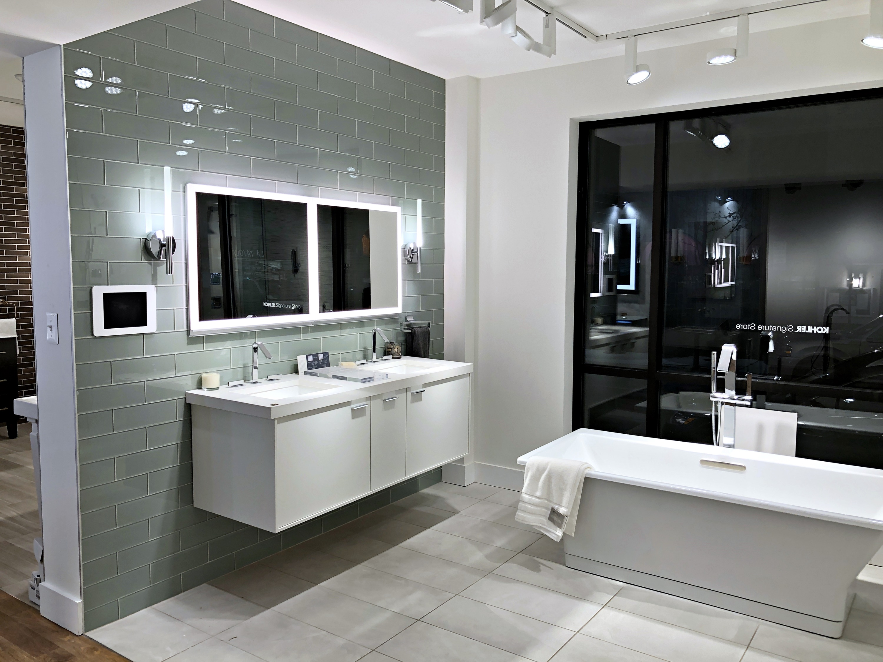 Kohler Signature Store refresh in Baltimore by Westwood Contractors