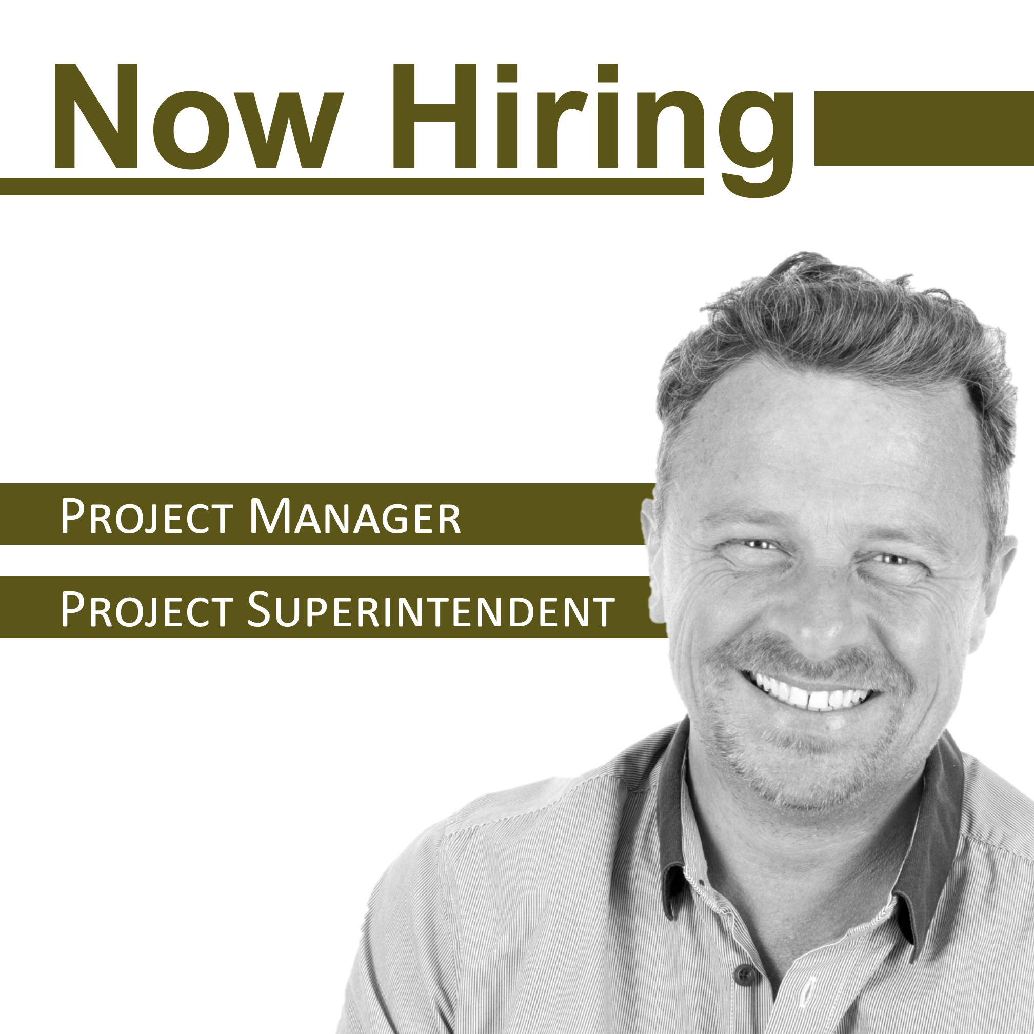 Westwood Contractors is now hiring construction Project Manager and Project Superintendent.